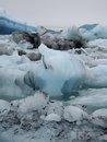 Glacier lagoon jokulsarlon iceland in Stock Photo