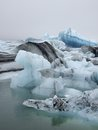 Glacier lagoon jokulsarlon iceland in Stock Photography