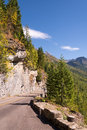 Glacier national park montana usa september going to the sun road in on Stock Images