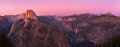 Glacier point at sunset Royalty Free Stock Photo