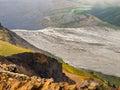 Glacier river in Skaftafell National Park Royalty Free Stock Photo