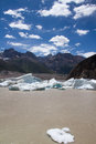 Glacier the view of laigu nyingchi tibet china Royalty Free Stock Photo