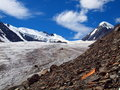 Glaciers Aktru Royalty Free Stock Photos