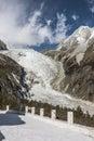 Glaciers relics Royalty Free Stock Photo