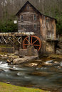 Glade Creek Grist Mill at Babcock State Park Royalty Free Stock Image
