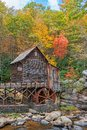 The Glade Creek Grist Mill In West Virginia Royalty Free Stock Photo