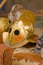 Gladiator helmet Royalty Free Stock Images