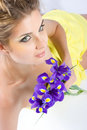 Gladioulus flowers Royalty Free Stock Photo