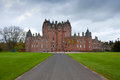 Glamis castle scotland childhood home of queen elizabeth the queen mother uk Royalty Free Stock Photography