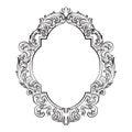 Glamorous Baroque Rococo Mirror frame set