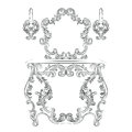 Glamorous Fabulous Baroque Rococo Console Table and Mirror frame set