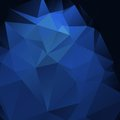 Glamour dark blue abstract background