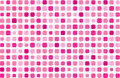 Glamour pink mosaic Stock Photos