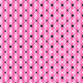 Glamour Pink Striped Geometric Pattern Royalty Free Stock Photo
