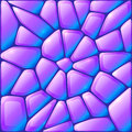 Glance violet vector rocks seamless pattern this is file of eps format Stock Image
