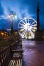 Glasgow Center Royalty Free Stock Photography
