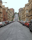 Glasgow hill Stock Photography
