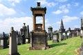 Glasgow Necropolis. Royalty Free Stock Photo