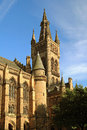 Glasgow university tower scotland Royalty Free Stock Photography