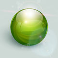 Glass ball  background Royalty Free Stock Image