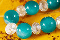 Glass beads Royalty Free Stock Images