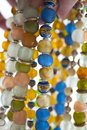 Glass beads close up of Royalty Free Stock Photography