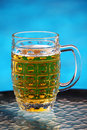 Glass with beer Royalty Free Stock Photography
