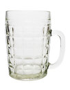 Glass beer mug Stock Image