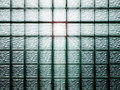 Glass block wall Royalty Free Stock Photography