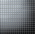 Glass block wall architecture background Stock Photos