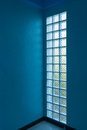 Glass block in wall pattern of Royalty Free Stock Image