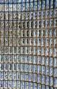 Glass blocks wall Royalty Free Stock Photo