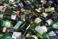 Glass bottles for recycling Royalty Free Stock Photo