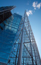 Sanomatalo, tall glass office building Royalty Free Stock Photo