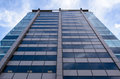 Glass Building low angle Royalty Free Stock Photo