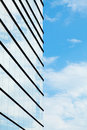 Glass building wall Royalty Free Stock Photo
