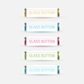 Glass Buttons Stock Photo