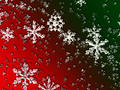 Glass Christmas Snowflakes Royalty Free Stock Photo