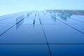 Glass decor window on corporate building Royalty Free Stock Photo