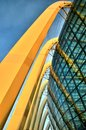 Glass Dome Architecture, Gardens by the Bay Royalty Free Stock Photo