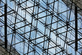 Glass facade - architectural detail Royalty Free Stock Photography