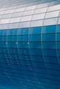 Glass facade of business building Stock Photography