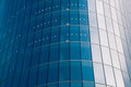 Glass facade of business building Royalty Free Stock Photo