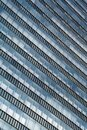 Glass Facade Of Modern Office Buildings With Reflections Of Neighboring Towers In The City Of Vienna Royalty Free Stock Photo