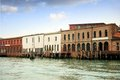 Glass factories in the island of murano in venice Stock Image