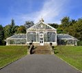 Glass House Royalty Free Stock Photo