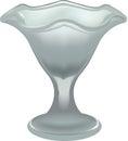 Glass Ice cream Royalty Free Stock Photo