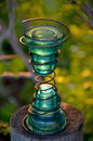 Glass Insulators Royalty Free Stock Photo