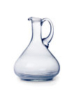 Glass jar on a white background Royalty Free Stock Images