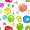 Glass Jewels seamless Royalty Free Stock Image